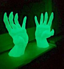 Brillan En La Oscuridad Zombie broma de Halloween de tamaño real de manos