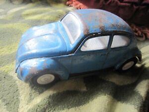 Tonka Pressed Steel VW, Volkswagon Beetle blue paintwork   for restoration