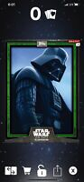 Topps Digital Star Wars Card Trader Illustrated CTI Green Darth Vader Series 6