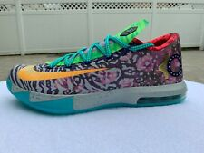 2014 Nike- What the KD 6-   669809-500 Size -11 - NEW