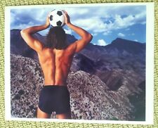 ANNIE LEIBOVITZ 'Untitled' 1986 Photograph World Cup Soccer / Futbol Mexico City