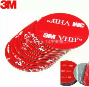 4 Pcs 3M VHB 5608 Double sided Adhesive Pads for Pop Expanding Socket☆US Seller☆