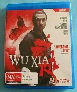 WU XIA BLU-RAY Donnie Yen see below