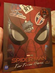 Spider-Man Far From Home WeET full slip (4K+2D) blu-ray steelbook sealed mint