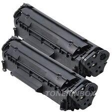 2x Q2612A 12A Compatible Toner Cartridge For LaserJet 3015 3020 3030 3050