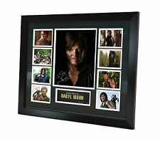 Daryl Dixon - Signed Photo - Memorabilia - Limited Edition - Framed - + COA
