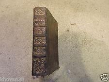 Manuel ou dictionnaire portatif ... Abbé Prévost 1767 tome 1 seul Plein cuir