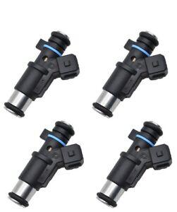4 x 01F002A Fuel Injector for Peugeot 206 306 307 Citroen 1.4 KFV Petrol