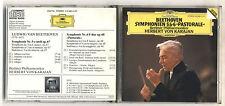 Cd HERBERT VON KARAJAN Beethoven Symphonien 5 & 6 PASTORALE Symphony