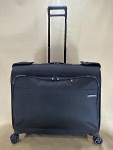 "BRIGGS & RILEY BASELINE U177 Black 50"" SPINNER GARMENT BAG $825"