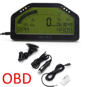 Professional Dash Race Display OBD2 Bluetooth Dashboard LCD Screen Digital Gauge