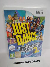 JUST DANCE DISNEY PARTY 2 - NINTENDO WII - NUOVO SIGILLATO - NEW SEALED PAL