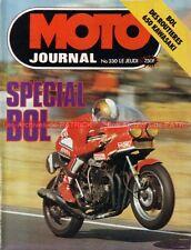 MOTO JOURNAL  330 KAWASAKI Z 650 Z650 JAWA 350 HONDA RCB 1ére au BOL d'OR 1977