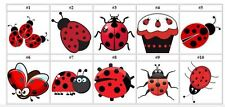 60 Personalized Ladybugs Return Address Labels Favors