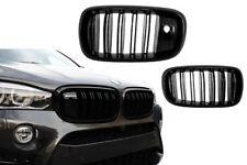 CALANDRE BMW X5 /& X6 F15 F16 APRES 07//2013 /& M HARICOT NOIRE BRILLANT
