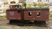 Roundhouse MDC HO Old Time NYC&HRRR Blind End Caboose, Upgraded, Exc