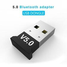New Wireless Dongle Stereo Receiver USB Bluetooth 5.0 Adapter for PC Win 7/8/10