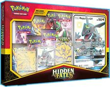 Pokemon TCG Hidden Fates Premium Powers Box Collection 7 Booster Packs IN STOCK