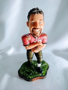 """TAMPA BAY BUCCANEERS MIKE ALSTOTT SUPER BOWL LIMITED EDITION 8""""H BOBBLEHEAD"""