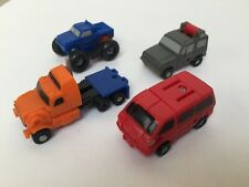 Transformers G1 1989 OFF-ROAD Patrol figure set Micromasters hasbro mint