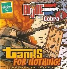 2003 GI Joe vs Cobra MINI COMIC #5 catalog Tanks For Nothing LARRY HAMA JTC