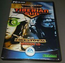 Command & Conquer Tiberian sun and Firestorm edition      VGC