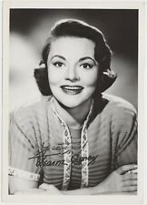 Jeanne Cagney Movie Star Autograph - Signed 5x7 Glossy Fan Photo - James brother