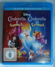 Cinderella 2&3 Blu Ray NEU OVP Walt Disney Teil 2+3