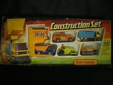 MATCHBOX  G-13 CONSTRUCTION SET HARD TO FIND  COMPLETE  WITH  ORIGINAL BOX