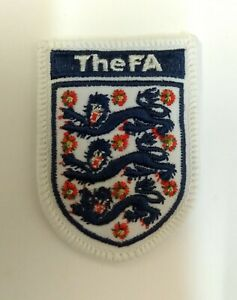 Obsolete Padded Embroidered England International Football (F.A) Association