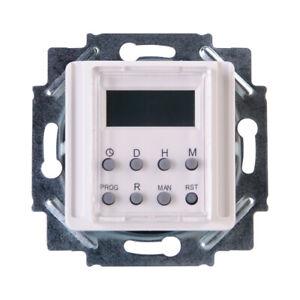 Kopp Paris HK05 arktisweiß Zeitschaltuhr elektronisch digital UP (290202186)