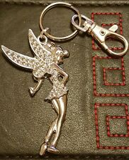 Fancy Tinkerbell Keyring handbag charm from The Tooth Fairy Tibetan silver