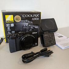 Nikon Coolpix A900 with *Genuine Nikon Case* - 4K Digital Camera 35x Zoom