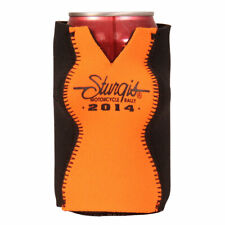 2014 Sturgis Motorcycle Rally Boobs in Hourglass Figure Can Cooler Koozie #1454