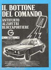 QUATTROR984-PUBBLICITA'/ADVERTISING-1984- GEMINI ELETTRONICA (versione B)