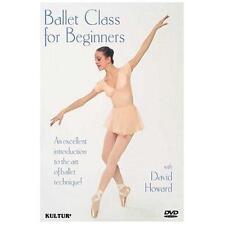 Ballet Class for Beginners (David Howard Allison Potter) New DVD Region 4