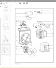 Miele Microwave Oven Turntable Motor P/n  06873733 M8261-1 photo