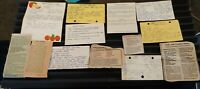 Vintage Handwritten and Clipped recipes (chicken, rice, potato salad, etc) 60s-7