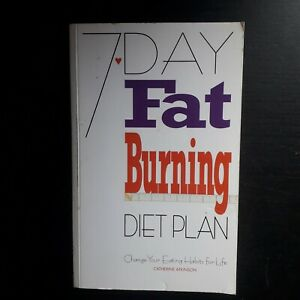 Catherine Atkinson 7 Day Fat Burning Diet Plan Pre owned Good Condition PB Book