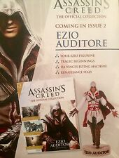 Assassins Creed Magazine & Enzio Audiotore Figurine Official Collection Issue #2