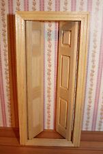 Tür Innentür mit Doppelflügel für Puppenhaus Puppenstube * Houseworks #6031
