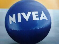 Wasserball Nivea Blau mit Aufschrift weiss NEU & OVP eingeschweißt