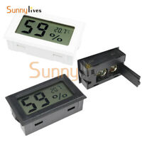 Mini Digital LCD Indoor Temperature Humidity Meter Thermometer Hygrometer K Type