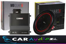 MB QUART 30.5cm subwoofer y 2ch Paquete Calidad Superior Audio DEL COCHE OFERTA