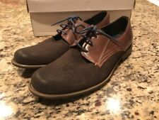 Steve Madden P-cyblee Lace Up Oxford Dress Shoes Sz 9.5 Brown Leather