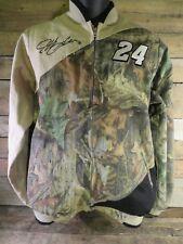 JEFF GORDON #24 Camouflage Camo Nascar Chase Jacket Size M
