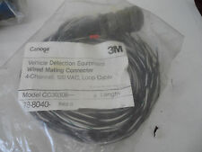 New listing 3M Canoga Vehicle Detection Equipment Wired Mating Connector Loop Cable #1
