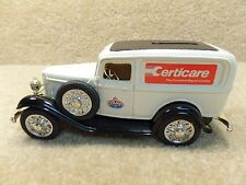 1990 ERTL Diecast Amoco Certicare Repair Center 1932 Ford Panel Delivery Bank