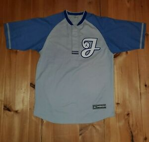 Vtg Air Jordan spellout Baseball Jersey Shirt Mens XL