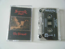 SEVENTH ANGEL THE TORMENT CASSETTE TAPE UNDER ONE FLAG UK 1990 SIGNED BY BAND!!!